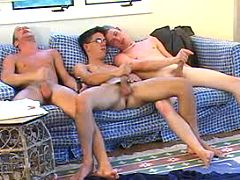 Six naughty twinks having a good time of love