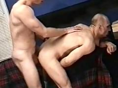 Gay dudes playing anal fuck