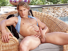 Anthony enjoys playing with his wazoo and penis in solo scene!