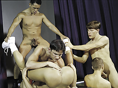 join in the getting contentment for a final groupie highlighted by vast cocks!
