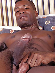 Black Twink Hunk Jerking off