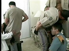 Damp fruit policemen uniform porn raw gangbang in 7 clip