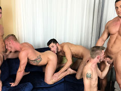 American Muscle Hunks & Jason Sparks R/T in Chicago