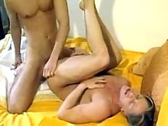Boys hard fuck being alone at home