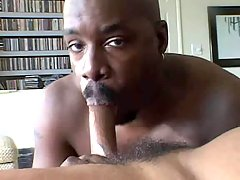 Beefy black fella gets boned hard