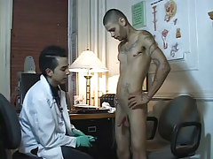 Rogue twink in medical room