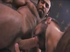 Bear eastern gay sucks hairy man in pyramid