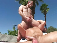 Mature gay licks hairy males asshole outdoor