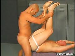 Horny bear gay crazy fuck tight males hole