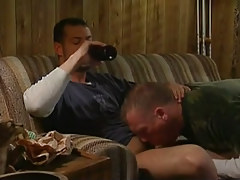 Drunk dilf sucked by young gay